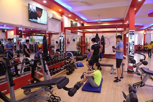dự án phòng gym