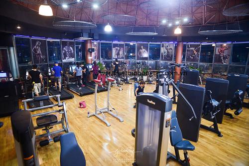 trang thiết bị phòng tập gym hiện đại